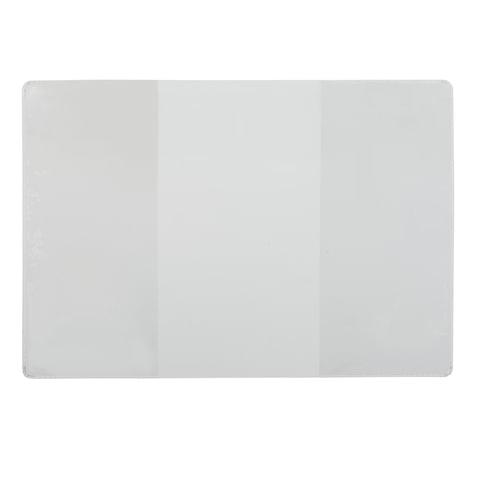 Обложка для удостоверения, ПВХ, 124х178 мм, прозрачная, ДПС, 1322.К