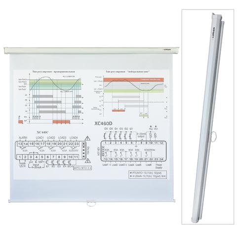 Экран проекционный настенный (200х200 см), матовый, 1:1, LUMIEN ECO PICTURE, LEP-100103
