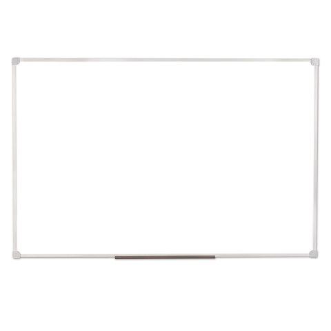 Доска магнитно-маркерная (60х90 см), ПВХ рамка, ГАРАНТИЯ 10 ЛЕТ, РОССИЯ, STAFF, 236158
