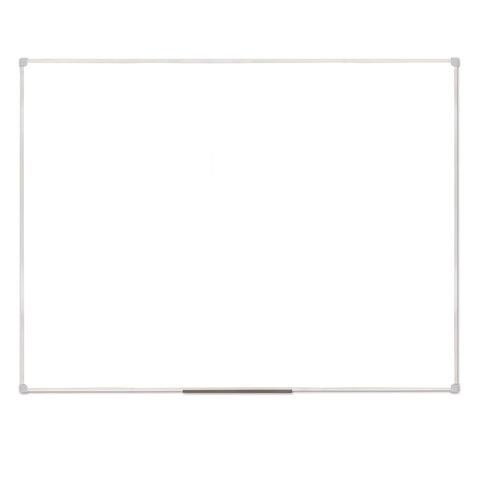 Доска магнитно-маркерная (90х120 см), ПВХ рамка, ГАРАНТИЯ 10 ЛЕТ, РОССИЯ, STAFF, 236159