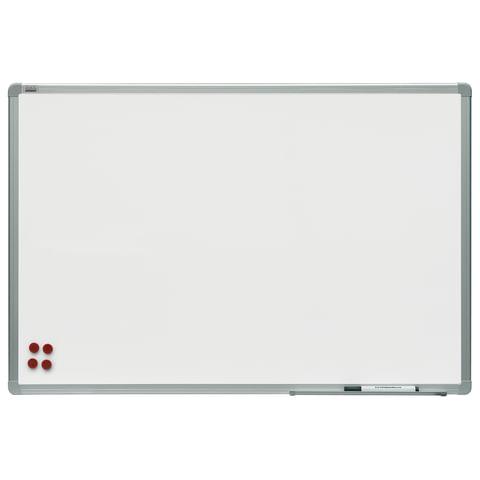 Доска магнитно-маркерная (60x90 см), алюминиевая рамка, OFFICE,