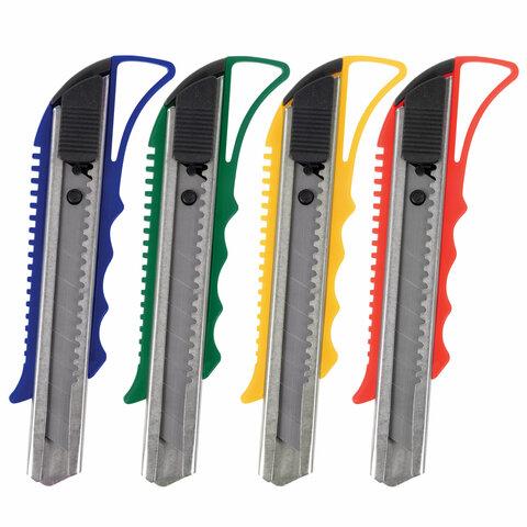 Нож канцелярский 18 мм STAFF