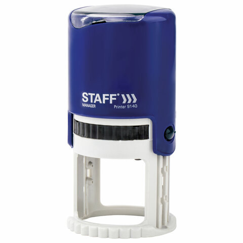 Оснастка для печати STAFF, оттиск D=40 мм,