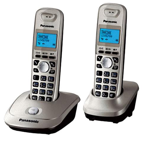 Радиотелефон PANASONIC KX-TG2512 RUN+доп. трубка, память 50 ном., АОН, повтор, 10-100 м,