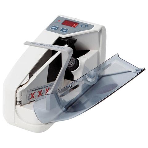 Счетчик банкнот PRO 15, 900 банкнот/мин, пересчет ценников, листовок, квитанций до А5 формата, 4 батарейки AA, 290554