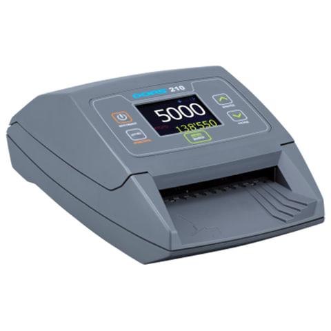 Детектор банкнот DORS 210, автоматический, RUB, ИК-, УФ-, магнитная, антистокс детекция