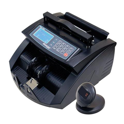 Счетчик банкнот MERCURY C-2000 BLACK, 1000 банкнот/мин, ИК, УФ детекция, фасовка, черный