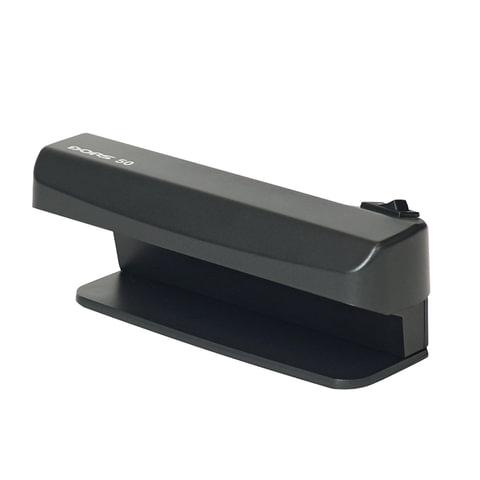 Детектор банкнот DORS 50, просмотровый, УФ-детекция, черный, SYS-033276