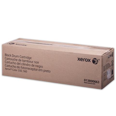 Фотобарабан XEROX (013R00663) XC 550/560, черный, оригинальный, ресурс 190000 страниц