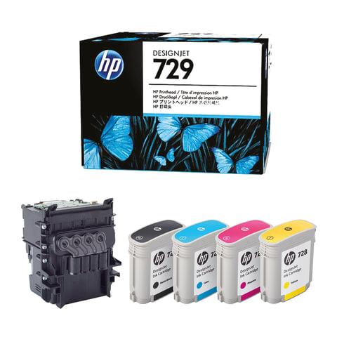 Комплект для замены печатающей головки HP (F9J81A) Designjet T830/T730, 729, оригинальный