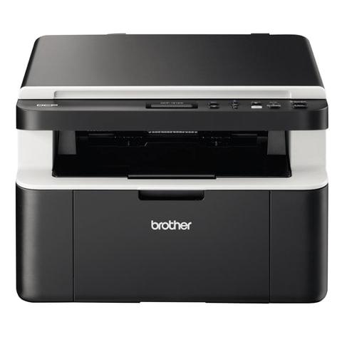 МФУ лазерное BROTHER DCP-1612WR (принтер, сканер, копир), А4, 20 стр./мин, 10000 стр./месяц, Wi-Fi (без кабеля USB)