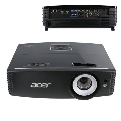 Проектор ACER P6200, DLP, 1024x768, 4:3, 5000 лм, 20000:1, 4,5 кг, MR.JMF11.002