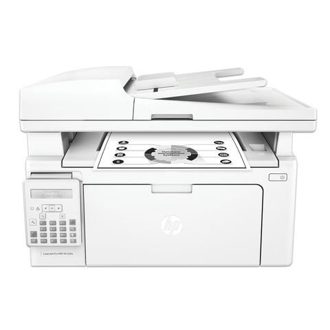 МФУ лазерное HP LaserJet Pro M132fn (принтер, копир, сканер, факс), А4, 22 стр./мин., 10000 стр./мес., АПД, с/к, (без кабеля USB), G3Q63A