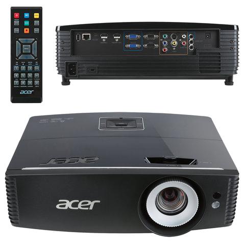 Проектор ACER P6500, DLP, 1920x1080, 16:9, 5000 лм, 20000:1, 4,5 кг, MR.JMG11.001