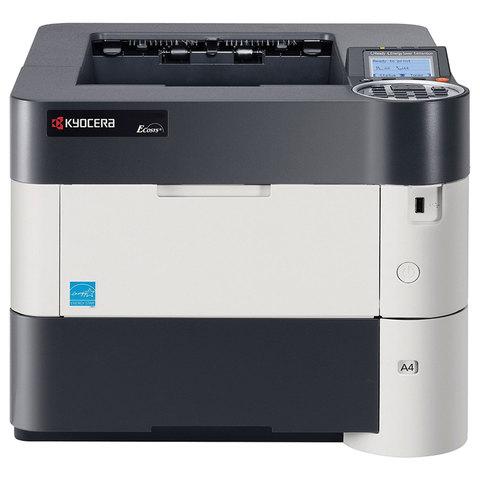 Принтер лазерный KYOCERA ECOSYS P3060dn, А4, 60 стр./мин., 275000 стр./мес., ДУПЛЕКС, сетевая карта, 1102T63NL0
