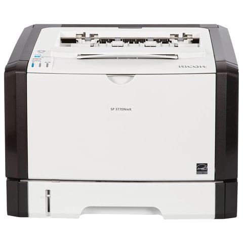 Принтер лазерный RICOH SP 377DNwX, А4, 28 стр./мин., 35000 стр./мес., ДУПЛЕКС, сетевая карта, Wi-Fi, 408152