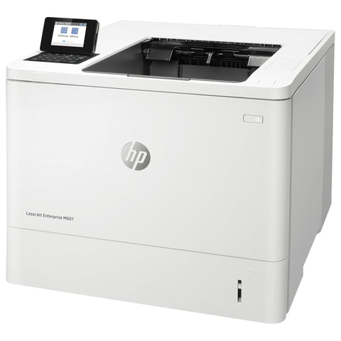 Принтер лазерный HP LaserJet Enterprise M607n, А4, 52 стр./мин., 250000 стр./мес., сетевая карта, K0Q14A