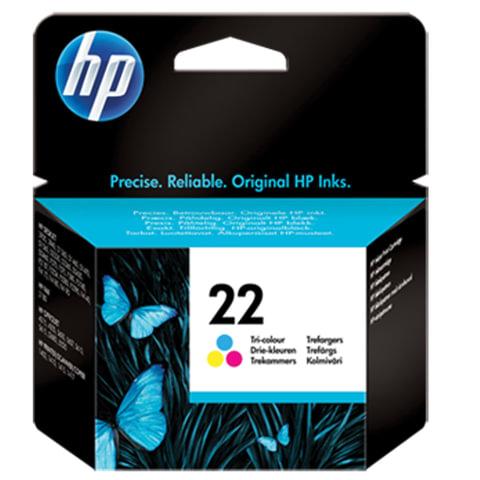 Картридж струйный HP (C9352AE) Deskjet 3920/3940/officeJet4315/4355, 22, цветной, оригинальный