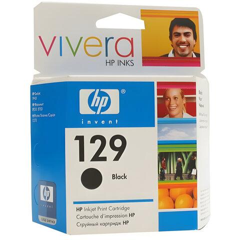 Картридж струйный HP (C9364HE) PhotoSmart 2573/2575/D5063/DeskJet 6943/6983, 129, черный