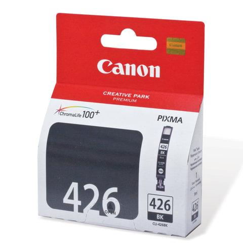Картридж струйный CANON (CLI-426Bk) Pixma MG5140/MG5240/MG6140/MG8140, черный, оригинальный, 4556B001