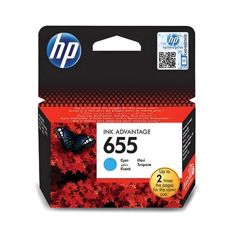 Картридж струйный HP (CZ110AE) Deskjet Ink Advantage 3525/5525/4515/4525 655, голубой, оригинальный