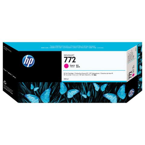 Картридж струйный HP (CN629A) DesignJet Z5200, 772, пурпурный, оригинальный, ресурс 300 стр.
