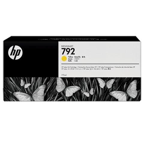 Картридж струйный HP (CN708A) DesignJet L26500, 792, жёлтый, оригинальный