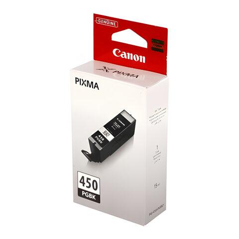 Картридж струйный CANON (PGI-450PGBk) Pixma iP7240 и другие, черный, фото, оригинальный, 6499В001