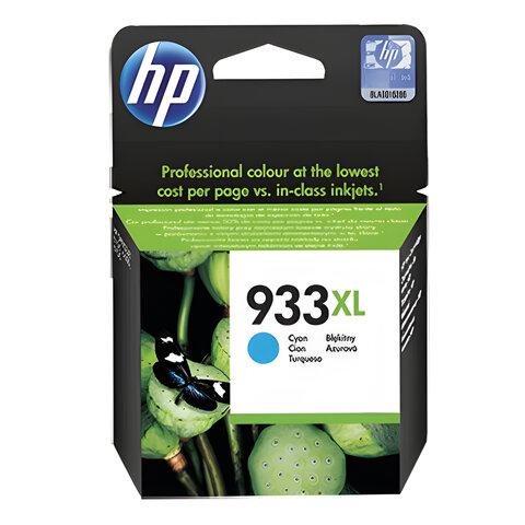 Картридж струйный HP (CN054AE) OfficeJet 6100/6600/6700 933XL, голубой, оригинальный