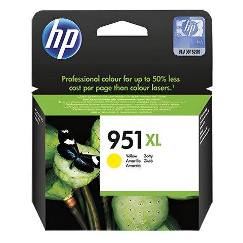 Картридж струйный HP (CN048AE) OfficeJet 8100/8600 951XL, желтый, оригинальный