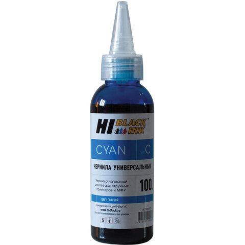 Чернила HI-BLACK для CANON (Тип C) универсальные, голубые, 0,1 л, водные, 150701090U