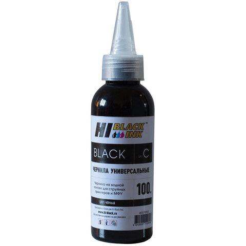 Чернила HI-BLACK для CANON (Тип C) универсальные, черные 0,1 л, водные, 150701094U