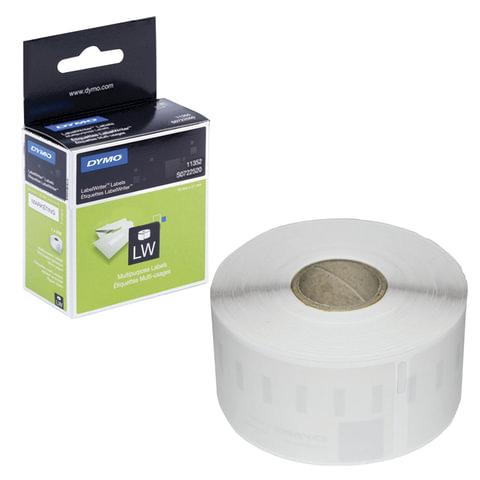 Картридж для принтеров этикеток DYMO Label Writer, этикетка 54х25 мм, в рулоне, 500 шт./рулоне, белые, S0722520