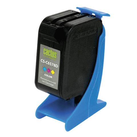 Картридж струйный CACTUS (CS-C6578D) для HP Deskjet 959C/1220C/9650, цветной