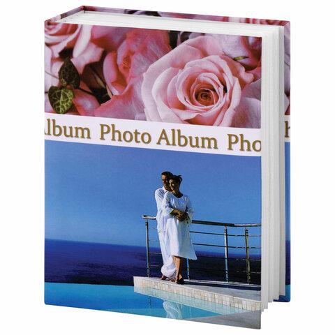 Фотоальбом BRAUBERG на 304 фотографии 10х15 см, твердая обложка,
