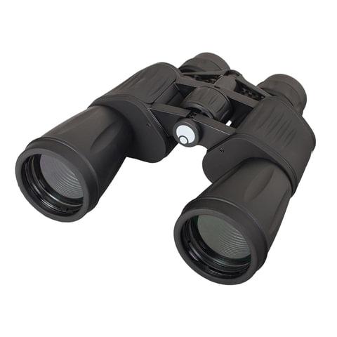 """Бинокль LEVENHUK """"Atom 10-30x50"""", увеличение х10-х30, объектив 50 мм, широкоугольный, черный, 67684"""