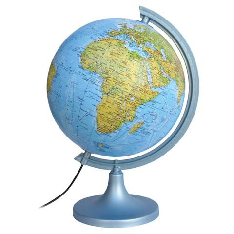 Глобус физический/политический DMB, диаметр 250 мм, с подсветкой (по лицензии ГУП ПКО