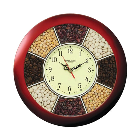 Часы настенные TROYKA 11131141, круг,