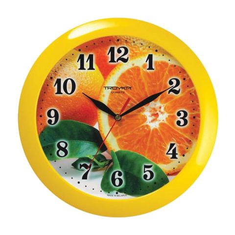 Часы настенные TROYKA 11150126, круг, с рисунком