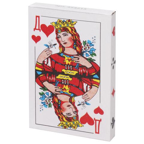 Карты игральные, 36 карт, с пластиковым покрытием, 454215