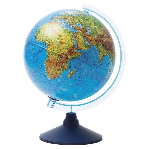 Глобус физический/политический подсветка от батареек, GLOBEN