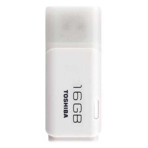Флэш-диск 16 GB, TOSHIBA U202, USB 2.0, белый, THN-U202W0160E4