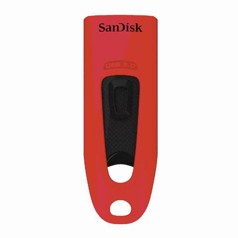 Флэш-диск 32 GB, SANDISK Ultra, USB 3.0, красный, Z48-032G-U46R