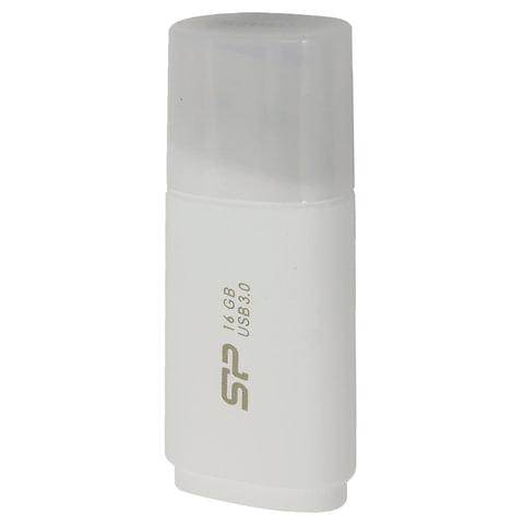 Флеш-диск 16 GB, SILICON POWER Blaze B06, USB 3.1, белый, SP16GBUF3B06V1W