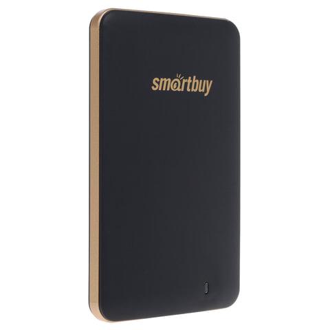 Диск жесткий внешний SSD, 128 GB, SMARTBUY S3 Drive, USB 3.0, черный, 128GBS3DB18SU30