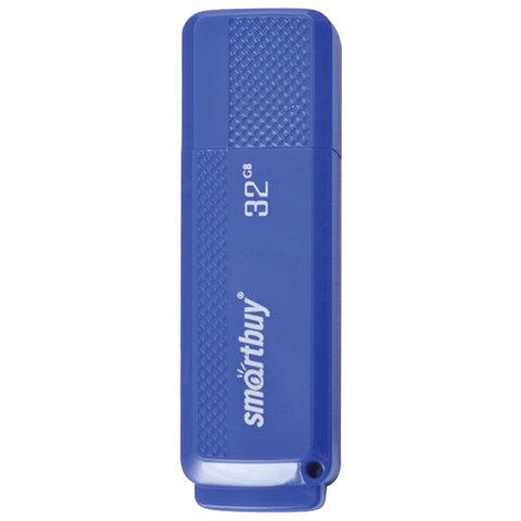 Флэш-диск 32 GB, SMARTBUY Dock, USB 2.0, синий, SB32GBDK-B