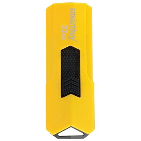 Флэш-диск 32 GB SMARTBUY Stream USB 2.0, желтый, SB32GBST-Y