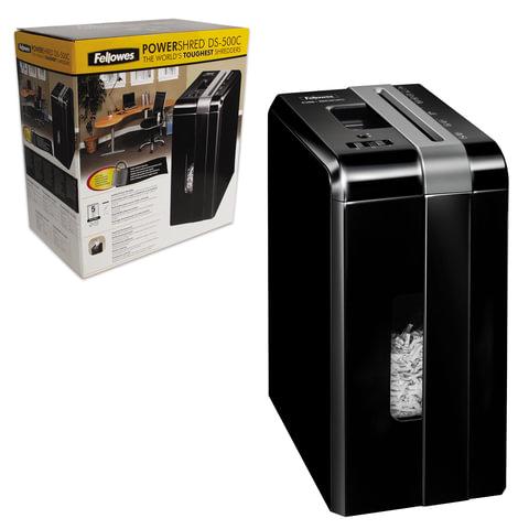 Уничтожитель (шредер) FELLOWES DS-500С, на 1 человека, 4 уровень секретности, 4x38 мм, 5 листов, FS-3401301