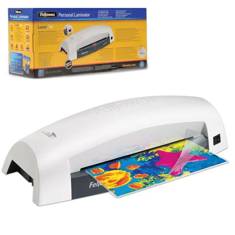 Ламинатор FELLOWES LUNAR, формат A4, толщина пленки 1 сторона 75-80 мкм, скорость - 30 см/минуту, FS-5715601