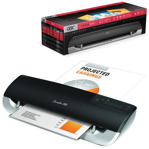 Ламинатор GBC FUSION 3100L (Англия), формат A3, толщина пленки (1 сторона) 75-175 мкм, скорость - 80 см/минуту, 4400750EU